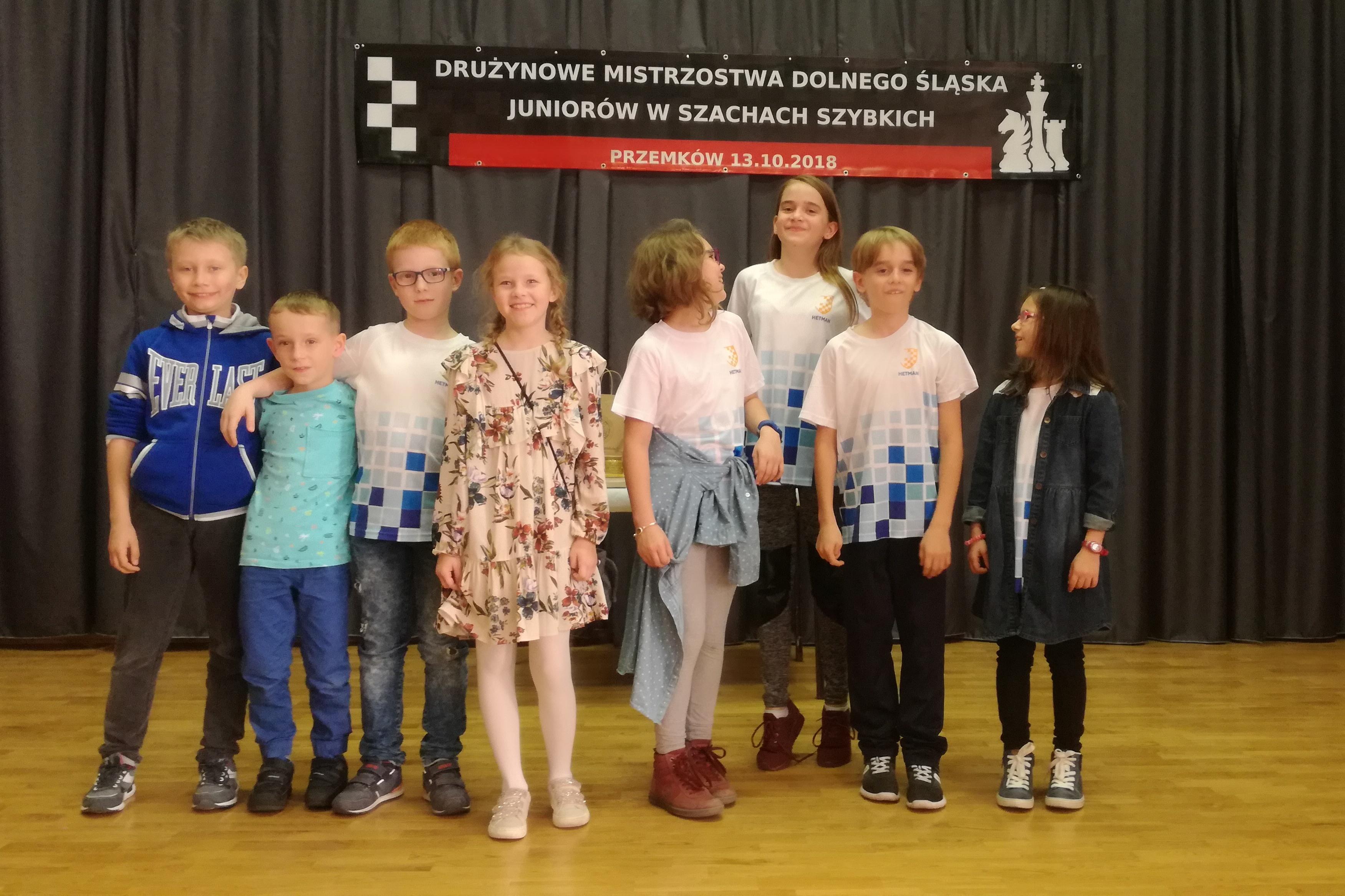 Drużynowe Mistrzostwa Dolnego Śląska Juniorów w Szachach Szybkich 2018