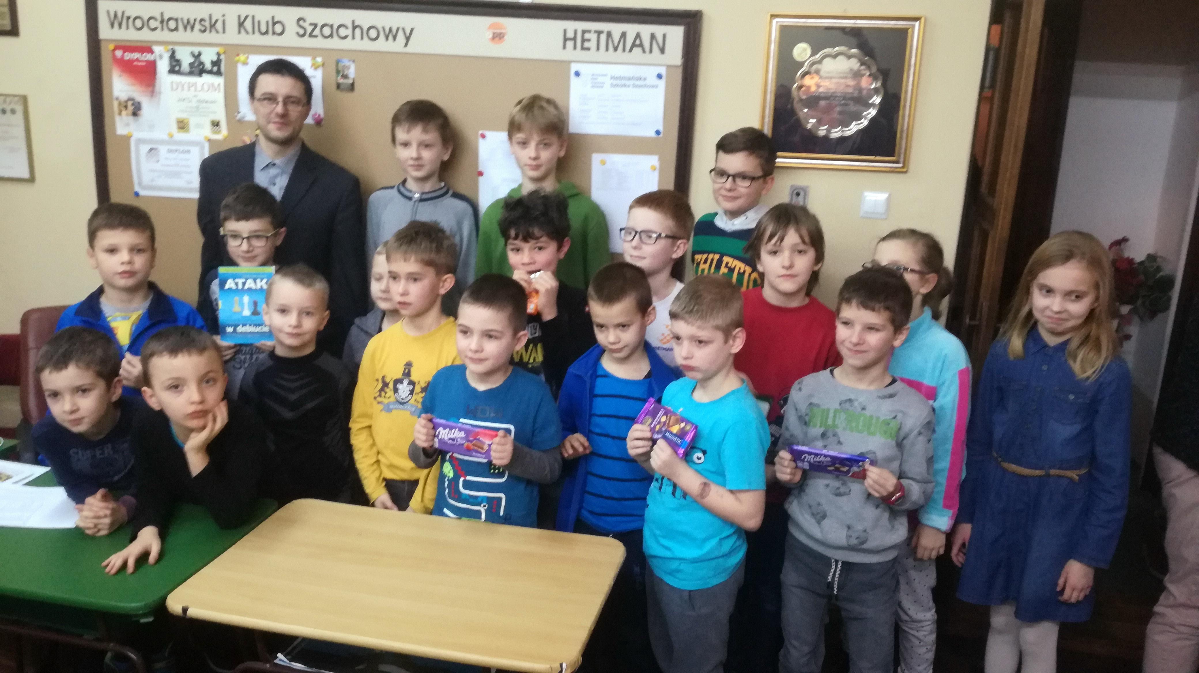Czekoladowy Turniej Szachowy dla dzieci