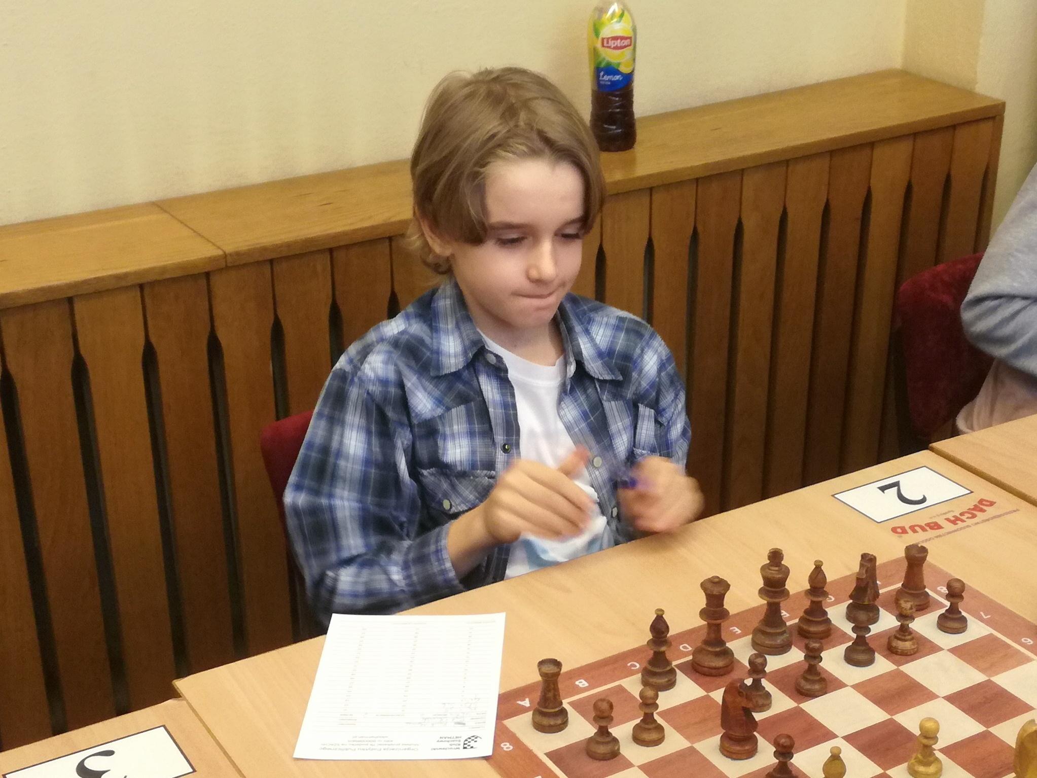 Eryk Olawiński z III kategorią