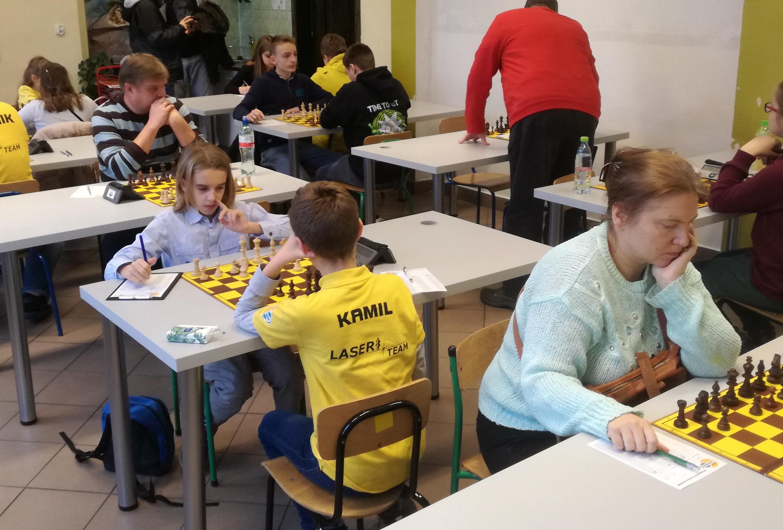 WKS Kopernik Wrocław II (1B) - Wrocławski Klub Szachowy HETMAN IV (2B)